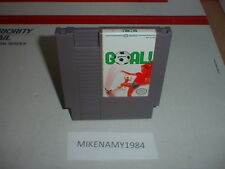 GOAL ! soccer game cartridge only Original Nintendo NES