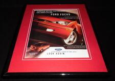 2003 Ford Focus Framed 11x14 ORIGINAL Vintage Advertisement
