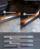 modanature acciaio 4 Battitacco Dacia Duster protezione soglia battitacchi 17-19