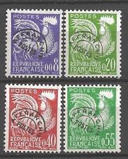 France 1960 préoblitérés Yvert  n° 119 à 122 neuf ** 1er choix