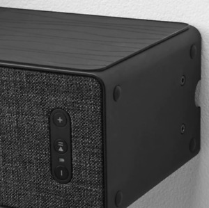NEW Ikea x Sonos Symfonisk Wi-Fi Bookshelf Speaker + Wall Bracket (BlackorWhite)