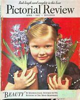 Pictorial Review April 1937 Faith Baldwin Anthony Abbott Mildred Cram