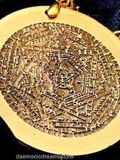 ENOCHIAN MAGICK SIGILLUM AMULET CONSECRATED Occult Magic Dei Ameth Talisman