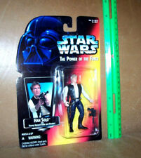 Star Wars Power of The Force HAN SOLO Assault Rifle And Blaster