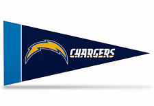 "San Diego Chargers NFL Mini Pennant  9""x4"",New,Felt, Made in USA Flag"