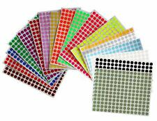 Marking Dot Labels Inch For Organizing 8mm Bottle Circle Stickers 3024 Pack