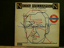 NICHOL WILLIAMSON  Live In London With Parachute  LP