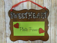 Rustic western metal Sweetheart hanging NOTE BOARD OR PICTURE FRAME handmade USA