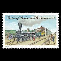 Austria 2013 - Baden Train Station During the Biedermeier Period - Sc 2426 MNH