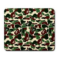 Hot New Bathing Ape Camo Art Design mousepad mouse pad Free Shipping