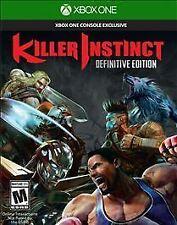 Killer Instinct: Definitive Edition USED SEALED (Microsoft Xbox One, 2016)
