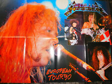 METALLICA/GUNS N ROSES-Aerosmith Poster 84x54 cm 1117