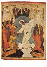 """vintage greeting post cards"""" Christ Descent into Hell """"1025"""""""