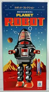 Mechanical Planet Wind-Up Robot MS-430 By Schylling New Mint in Box 2009
