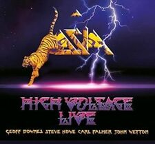 ASIA - HIGH VOLTAGE CD and DVD NEW!