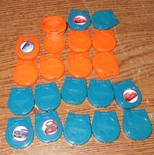 Disney PIXAR Cars Racing Trophy Set Game Toy Pieces Unknown Set of 20 Orange Blu