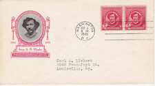 1940 IOOR CACHET FDC FAMOUS AMERICANS SERIES JAMES A M WHISTLER ARTIST