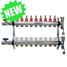 9 Loopport Stainless Steel Pex Manifold Radiant Heating With Connectors Pex Guy