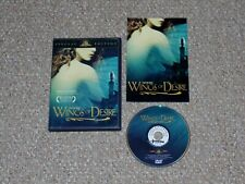 Wings of Desire DVD 2003 Special Edition Complete Wim Wenders Bruno Ganz