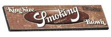 Smoking Kingsize Brown Rolling Paper