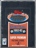 1992-93 Topps Stadium Club Basketball Series 2 Sealed Box Get a PSA 10 O'Neal RC
