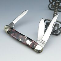 Rare VTG Winchester Trade Mark USA Celluloid Serpentine Stockman Pocket Knife
