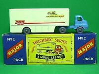 Matchbox Major Pack M-2a Bedford 'S' Type Ice Cream Truck In Type 'B' Box (GPW)