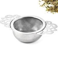 Tea Strainer Steel Fine Mesh Tea Infuser Filter for Brewing Steeping Tea ToolsUS