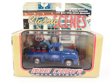 Road Champs Collectibles Classic Scenes 1:43 Die Cast Blue Ford F100 Pickup New