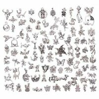 Juanya Wholesale 100 Pieces Mixed Animals Charms Pendants DIY for Jewelry Making