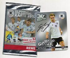 Fußball REWE Sammelkarte DFB 2012 3D-Edition Nr 6  Mario Götze