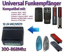 Sommer kompatibel funkempfänger für Sommer fernbedienungen 868,8Mhz 2-kan 12-24V