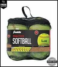 Franklin Sports Practice Softballs - Official Size and Weight Softball