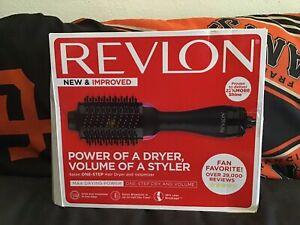 Revlon, One Step Hair Dryer & Volumizer Brush, 22% More Shine ~~C@@L~~revlon