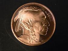 2011 - 1 oz. AVDP .999 Fine Copper Round W/ Indian Head Obverse