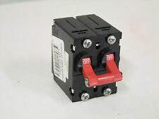 A-SERIES MARINE CIRCUIT BREAKER - DOUBLE RED HANDLE - 40 AMP / 80V-DC / 277V-AC