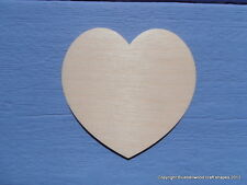 Wooden Heart Shape Plain Plaque Craft Blank Door Wall Sign 20cm pack of 3