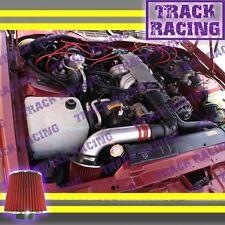 1988 1989 PONTIAC FIREBIRD FORMULA TRANS AM GTA 5.0L 5.7L V8 AIR INTAKE KIT Red