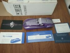 New ListingFranklin Mint 1939 Duesenberg Coupe Simone Purple Diescast Car *Mint in Box*