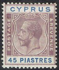 CYPRUS 1924 KGV 45PI