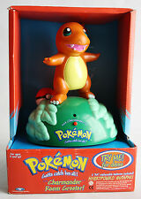 RARE 1999 POKEMON TALKING CHARMANDER ROOM GREETER NINTENDO TRENDMASTERS NEW MIB!