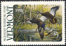 VT3 1988 Vermont State Duck Stamp