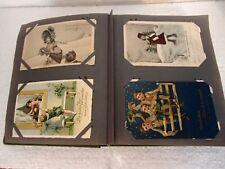 Jugendstil,Postkarten Album ca. 100 st.  um 1900