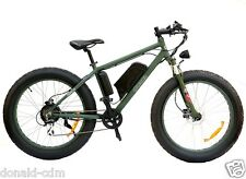 """FAT BIKE ELECTRIC """"ECOPED"""" LITHIUM BATTERY, 500W, BRAKES DISK HYDRAULIC NERO OP"""