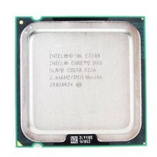 Intel Core 2 Duo 2.66 GHz 3M 1066 Mhz CPU E7300 Processor LGA775 socket SLAPB