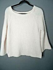 MINT VELVET Mohair Wool Blend Baby Pink Jumper Size 14 Knit