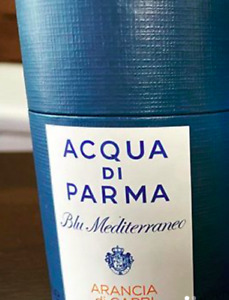 100% Authentic Acqua Di Parma Blue Mediterraneo Arancia Di Capri Candle In Box
