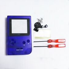 Transparent Sapphire Blue Full Housing Shell for Nintendo Game boy Pocket GBP