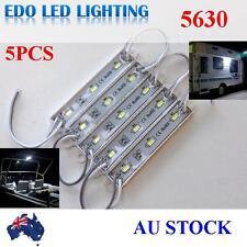 5630 12V LED waterproof Strip Module Light Coolwhite Garden Camping Boat Caravan