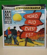 LP 883 NORD SUD OVEST EST DOPPIO SIGILLATO NUMERATO 167/1000 ROSSO 180GRAMMI